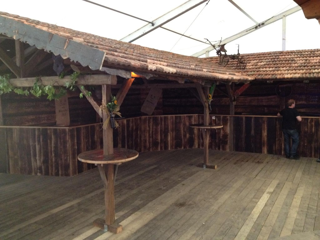 Unsere rustikale Bar