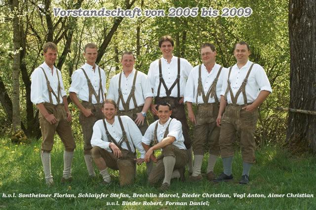 Vorstandschaft 2005 bis 2009