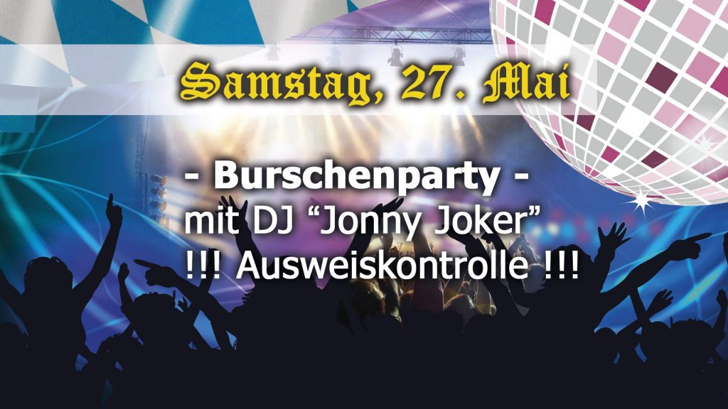 Burschenparty 2017